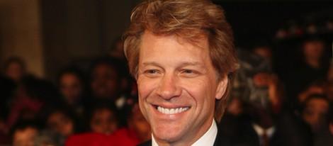 Jon Bon Jovi en la gala de los premios Britain Awards de Londres