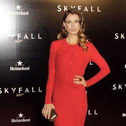 Natasha Yarovenko en el estreno de 'Skyfall' en Madrid