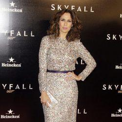 Lola Marceli en el estreno de 'Skyfall' en Madrid