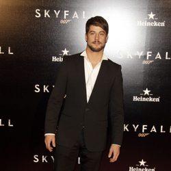 Luis Fernández en el estreno de 'Skyfall' en Madrid
