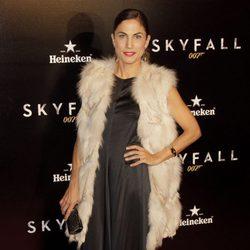 Toni Acosta en el estreno de 'Skyfall' en Madrid