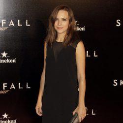 Aura Garrido en el estreno de 'Skyfall' en Madrid