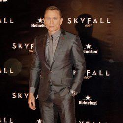 Daniel Craig en el estreno de 'Skyfall' en Madrid