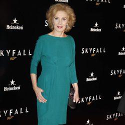 Marisa Paredes en el estreno de 'Skyfall' en Madrid