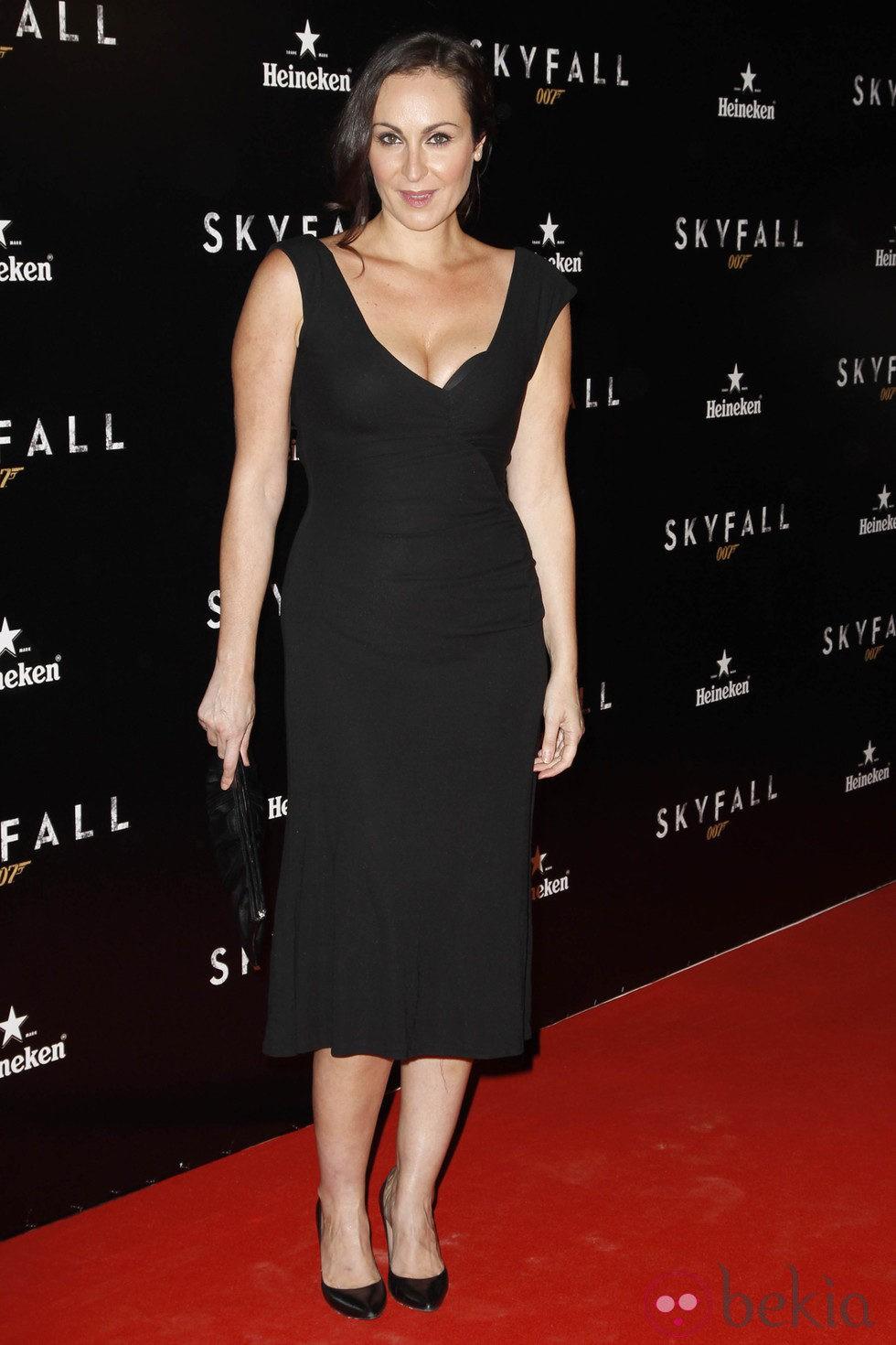 Ana Milán en el estreno de 'Skyfall' en Madrid