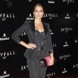 Hiba Abouk en el estreno de 'Skyfall' en Madrid