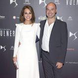 Paula Echevarría y Miguel Cruz Carretero en el estreno de 'Vulnerables'