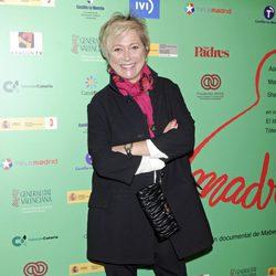 Inés Ballester en el estreno del documental 'Madre'
