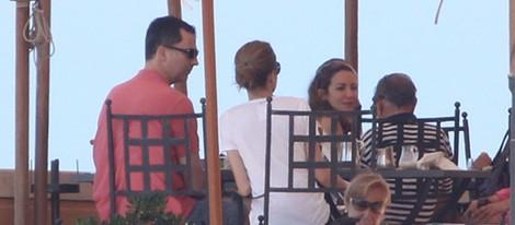 Los Príncipes Felipe y Letizia celebran la boda de Telma Ortiz en Roma