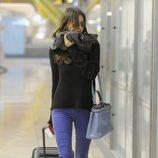 Irina Shayk en el aeropuerto de Madrid dirección Turquía