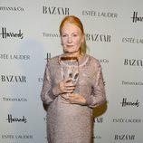 Vivienne Westwood en la gala Harper's Bazaar Mujer del Año 2012