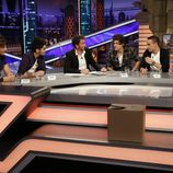One Direction y Pablo Motos en 'El hormiguero'
