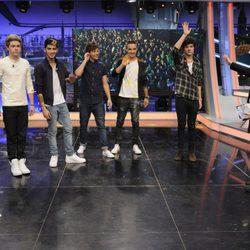 Los One Direction se despiden de 'El hormiguero' de Pablo Motos