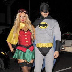 Paris Hilton y River Viiperi celebran Halloween 2012 en Los Ángeles