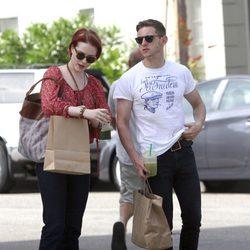 Evan Rachel Wood y Jamie Bell, tarde de compras