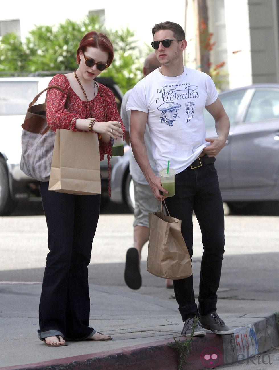Evan Rachel Wood y Jamie Bell, tarde de compras - Evan ...