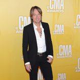 Keith Urban en la gala de los Premios CMA 2012