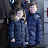 Christian e Isabel de Dinamarca en la cacería Hubertus