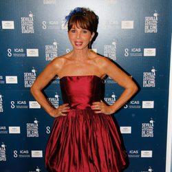 Victoria Abril en el estreno de 'Fin' en el Festival de Cine Europeo de Sevilla 2012
