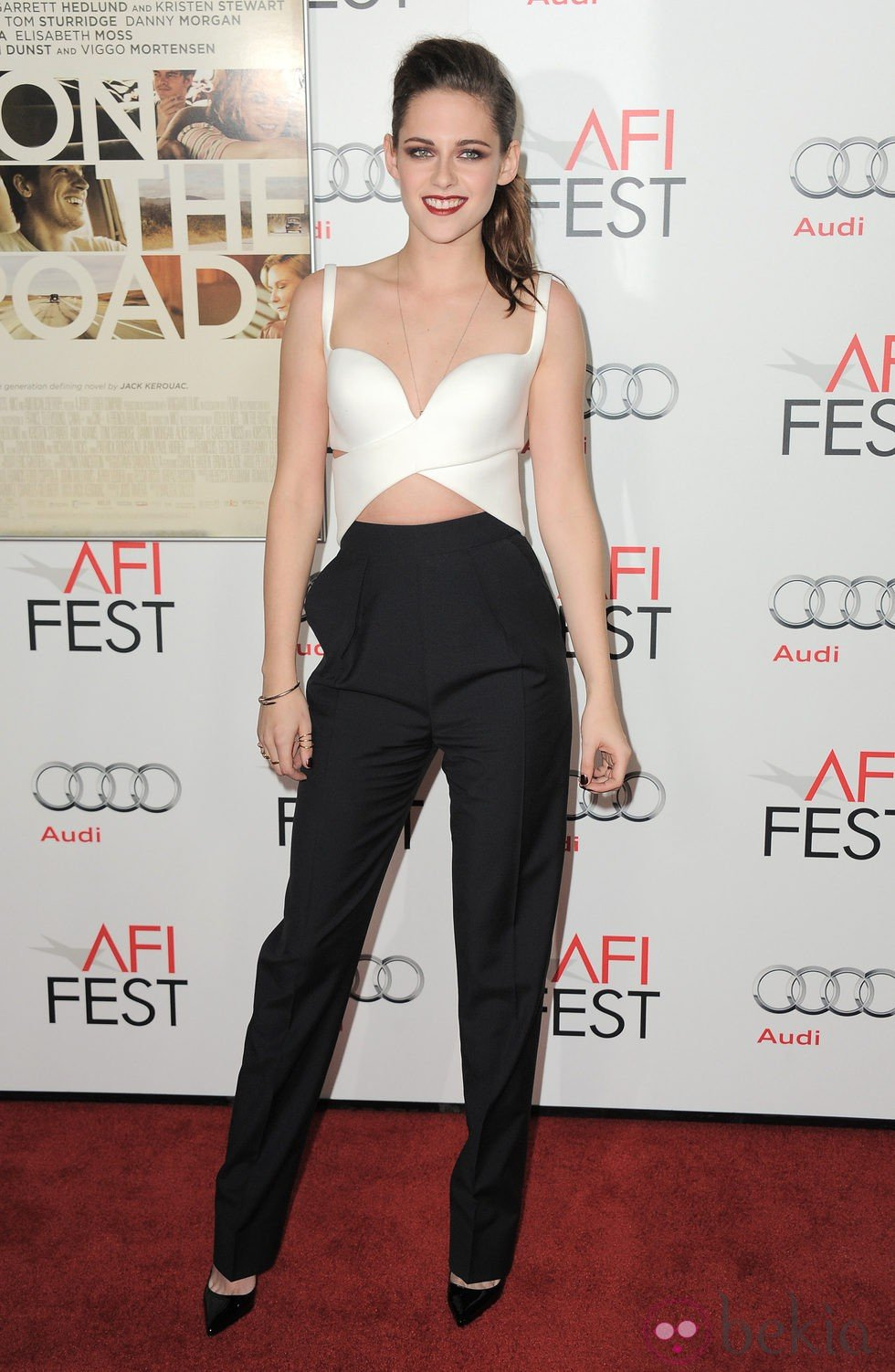 Kristen Stewart promociona 'On The Road' en el AFI Fest
