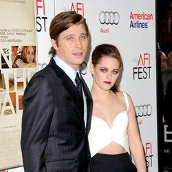 Garret Hedlund y Kristen Stewart promocionando 'On The Road'