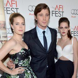 Amy Adams, Garret Hedlund y Kristen Stewart promocionan 'On The Road'