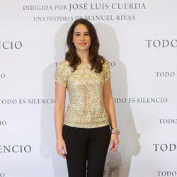 Celia Freijeiro en la presentación de la película 'Todo es silencio'