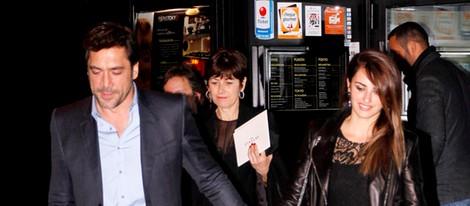 Penélope Cruz y Javier Bardem en la fiesta posterior al estreno de 'Skyfall' en Madrid