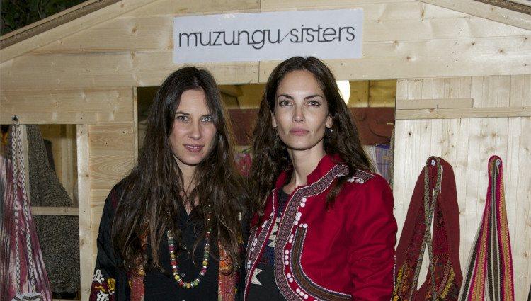 Tatiana Santo Domingo y Eugenia Silva en la presentación de la pop up store de Muzungu Sisters