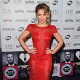 Kimberley Walsh en la gala Music Industry Trusts Awards 2012