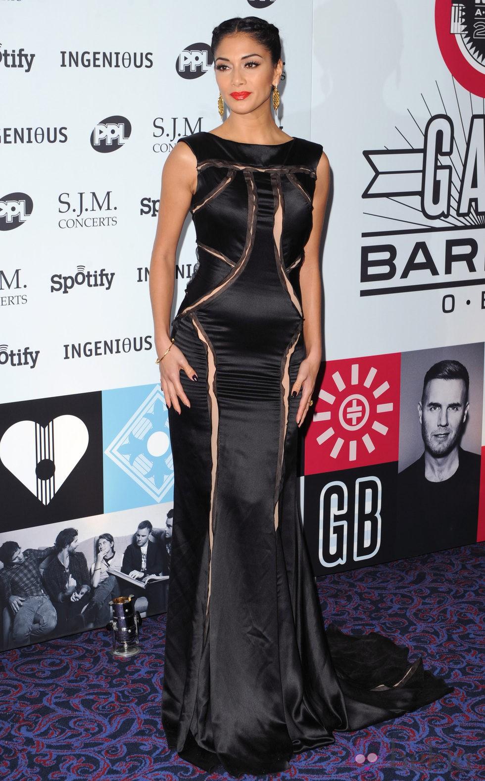 Nicole Scherzinger en la gala Music Industry Trusts Awards 2012
