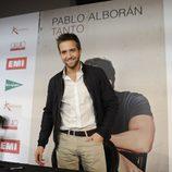 Pablo Alborán en la firma de discos de 'Tanto' en Madrid