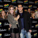 Mario Casas y María Valverde en una entrega de premios musicales