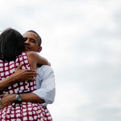 La foto más retuiteada de la historia, Barack y Michelle Obama