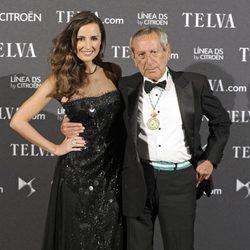 Mónica de Tomás y Elio Berhanyer en los Premios Telva 2012