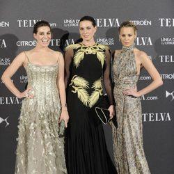 Eugenia, Alejandra y Claudia Ortiz en los Premios Telva 2012
