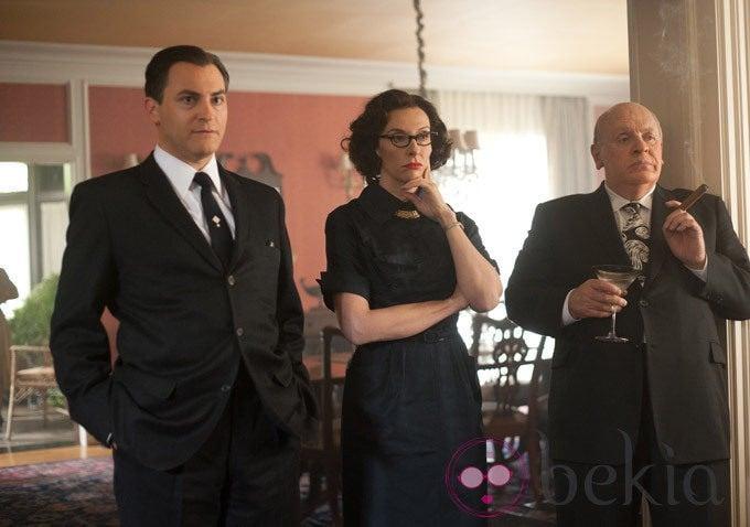 Michael Stuhlbarg, Toni Collette y Anthony Hopkins en 'Hitchcock'