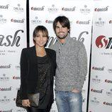Chenoa y Curi Gallardo en la inauguración del restaurante 'Smash' en Madrid