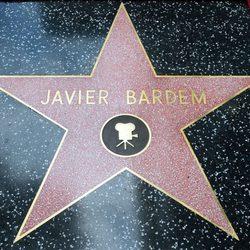 Estrella de Javier Bardem del Paseo de la Fama de Hollywood