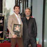 Javier Bardem recoge su estrella del Paseo de la Fama de Hollywood con Sam Mendes