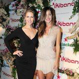 Judit Mascó y Malena Costa en la inauguración del restaurante Ikibana en Barcelona