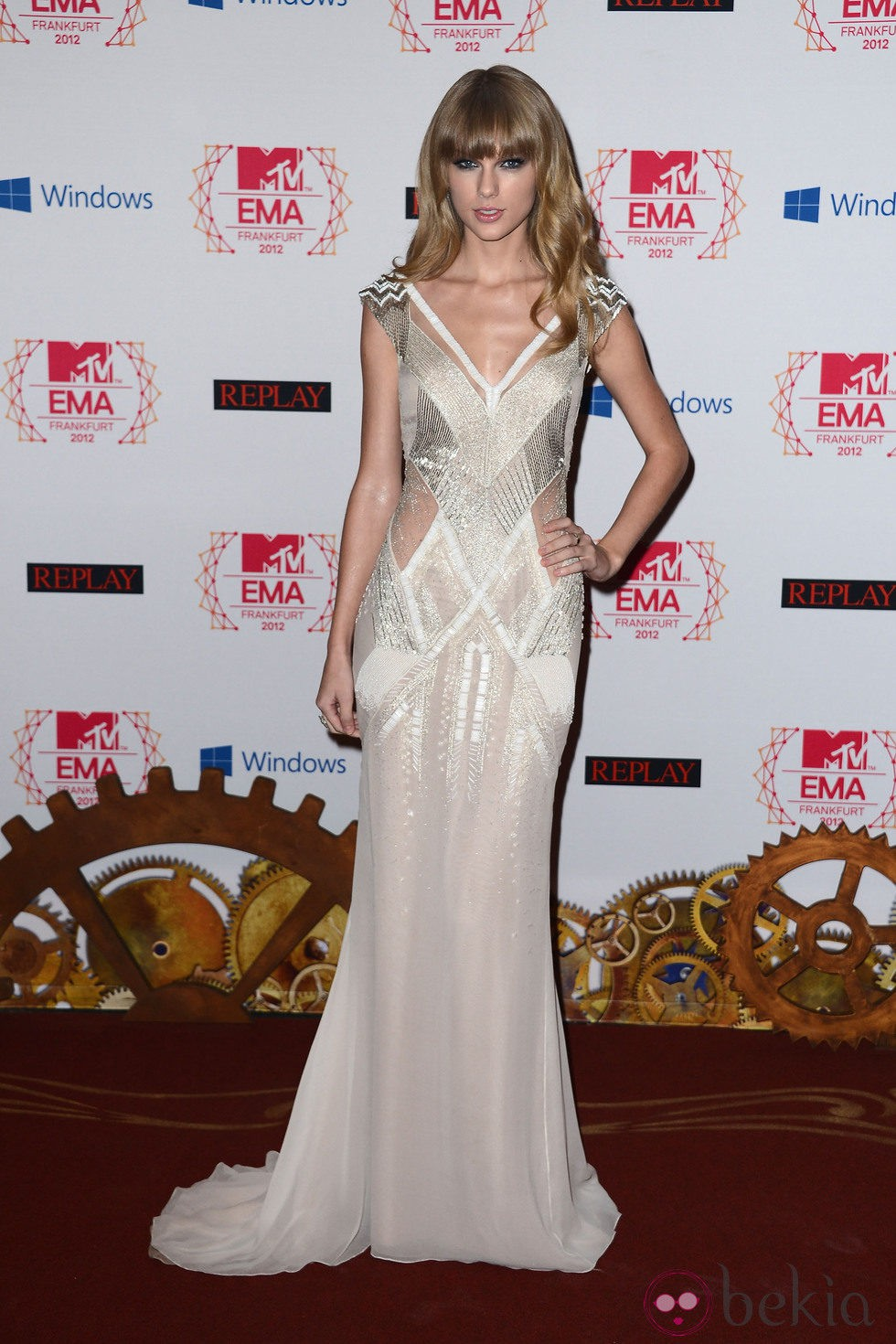 Taylor Swift en los MTV Europe Music Awards 2012