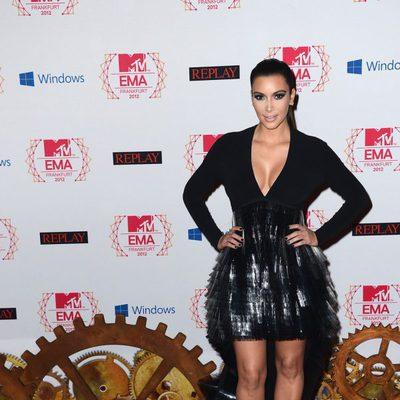 Kim Kardashian en los MTV Europe Music Awards 2012