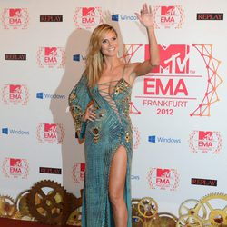 Heidi Klum en los MTV Europe Music Awards 2012