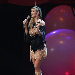 Heidi Klum durante los MTV Europe Music Awards 2012