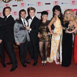 Los chicos de 'Gandia Shore' en la alfombra roja de la ceremonia de los MTV Europe Music Awards 2012