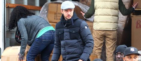 Justin Timberlake ayuda a las víctimas de 'Sandy'