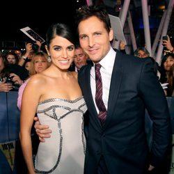 Nikki Reed y Peter Facinelli estrenan 'Amanecer. Parte 2' en Los Ángeles