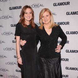 Christina y Arianna Huffington en los Premios Glamour Mujeres del Año 2012