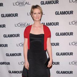 Cynthia Nixon en los Premios Glamour Mujeres del Año 2012